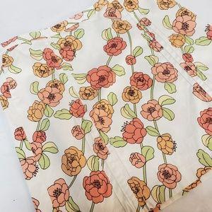 Ann Taylor Loft Skirt Flowers Size 10 Petite